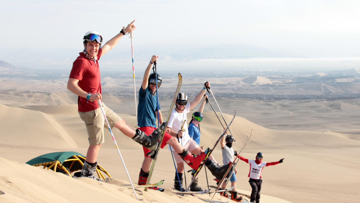 Private Professional Sandboarding or Sandskiing Tours