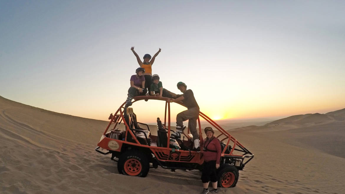 Dune Buggy & Sand Sled Tour
