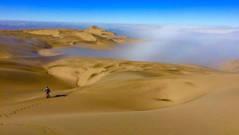 1.8km for Sandboarding or Sandskiing: ToroMata – Acarí